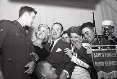 Marilyn Maxwell, Bob Hope and Ann Sheridan - 1951.