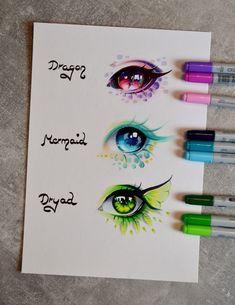Copic Marker, Kreslení Tváří, Pěkné Kresby, Kresby Tužkou, Skeče, Jak Kreslit, Kresby Disney, Oční Makeup