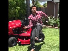 FIRST LET ME HOP OUT THE MOWER OF THE LAWN | David Lopez Vine