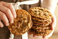 Cranberry-Pistachio Oatmeal Lace Cookies | Whole Foods Market
