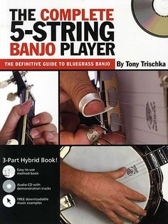 Tony Trischka: The Complete 5-String Banjo Player (Book & CD)