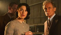 Gemma Arterton and Bill Nighy in Their Finest, hitting theaters April 7.