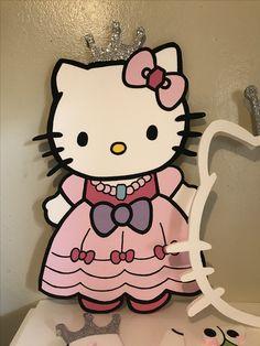 Hello kitty princess foam character