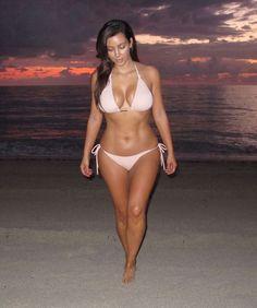 Kim's bikini body
