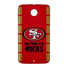 San Francisco 49ers Google Nexus 6 Case Cover Wrap Around