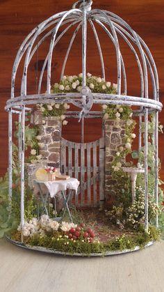 Birdcage garden....
