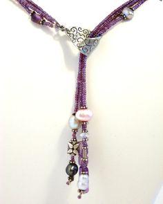 Diva Purple Lariat