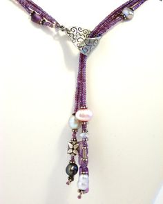 Diva Purple Lariat