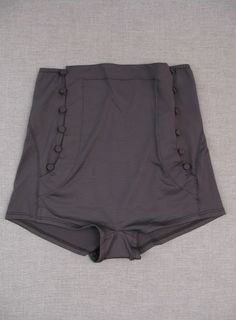 Majorette High-Waisted Swim Shorts. lille boutique