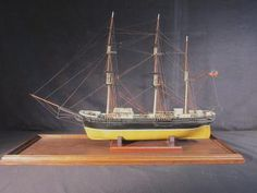 Full Ship Model - BELTED WILL of Liverpool. Contemporary Scratch Built Model