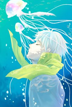 DMMd Clear by Rioteutonic on DeviantArt Clear / DRAMAtical Murder (Day 33: Favorite Anime Male A.I.)