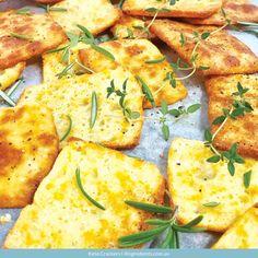 Keto Crackers | 4 Ingredients