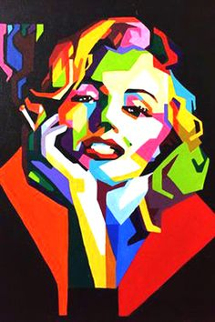Most popular tags for this image include: art, pop art, drawing, pretty and Marilyn Monroe Pop Art Portraits, Pop Art Images, Marilyn Monroe Pop Art, Wpap Art, Image, Poster Art, Art, Street Art, Wpap