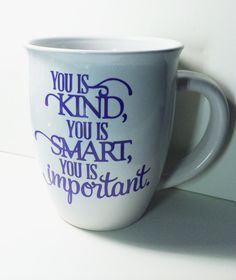 Mug with Quote from The Help Movie by BartlettDesign on Etsy
