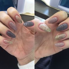 Holiday nails manicure Christmas nails winter manicure