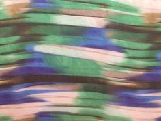 Voile fantasia verde e blu