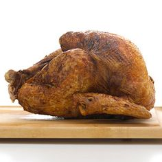 Thanksgiving: Deep-Fried Turkey #thanksgiving #turkey #holidays