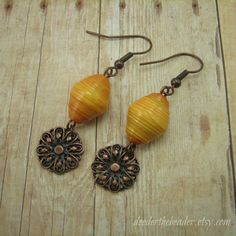 and Earring Set - Rwandan Paper Beads - Two Strand - Fruit Salad ...