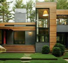 Kettle Hole House is a modern family house that located in East Hampton, US. This amazing family home design is designed by Robert Young Architecture Architecture Design, Residential Architecture, Contemporary Architecture, Architecture Interiors, Landscape Architecture, Modern Architecture Homes, Landscape Design, Installation Architecture, Contemporary Houses