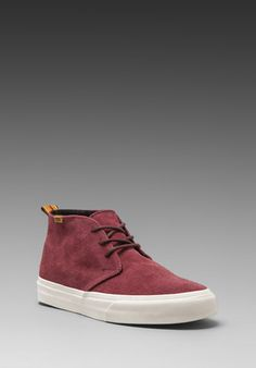 VANS California Chukka Decon in Bitter Choclate -