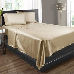 Bed Sheets, 100% Egyptian Cotton, 400 Thread Count – Split King – Elegant Send – 5 Piece Bed Sheet Set, Expertly Woven To Produce Lustrous Satin Finish, Deep Pocket, Machine Washable, By Clara Clark Searching for bedroom design pictures... - http://aluxurybed.com/product/bed-sheets-100-egyptian-cotton-400-thread-count-split-king-elegant-send-5-piece-bed-sheet-set-expertly-woven-to-produce-lustrous-satin-finish-deep-pocket-machine-washable-by-clara-clark/