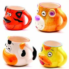 #Canute Zoo | #cani Mugs, Tableware, Dinnerware, Tumblers, Tablewares, Mug, Dishes, Place Settings, Cups