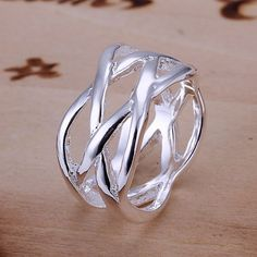 2017 Sale Anillos Rings Free Shipping Women Fashion Ring Fashion Jewelry Sterling Silver 925 Rings Wholesale Hot Selling Anel