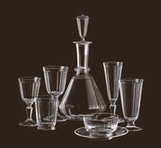 Lobmeyr: Drinking Service No. Wedding List, Table Accessories, Elegant Homes, Wine Decanter, Carafe, Drinkware, Luxury Furniture, Dinnerware, Drinking