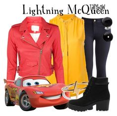 """""""Lightning McQueen"""" by tallybow ❤ liked on Polyvore featuring Joules, MICHAEL Michael Kors, IRO, Bing Bang and Lalique"""