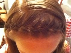French braid headband... One of my favorite hairstyles:) Steps: 1.) Section your hair from one ear across the head to the other, so when you finish the part it is at the crown of your head. (tip: I used a rat-toothed comb to part my hair to make the sectioning even and polished. 2.) Start by French braiding on one side of your head across to the other to make the headband. ( tip: if you do not know how to french braid you can look at my pins or YouTube french braid tutorials. Also, as you…