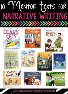 Writing with Mentor Texts is vital to writing success. Here are great tips and ideas for narrative writing!