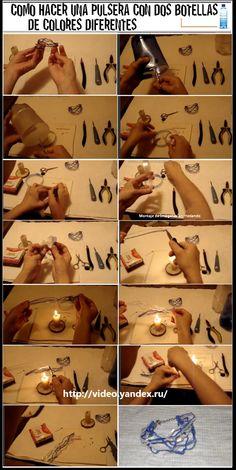 en-rHed-ando: Como hacer una Pulsera de una Botella Tuto en Video