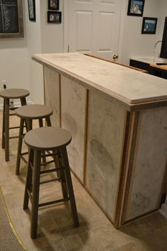 Custom Concrete Bar by decoratelier on Etsy, $5000.00