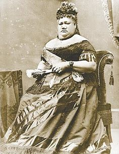 vintage pictures of the Hawaiian Monarchy | Royal Portraits: Princess Ruth Ke'elikolani