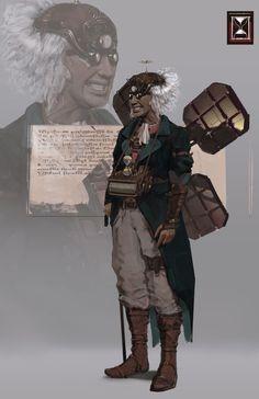 Time Travelor, Nico Kaeber on ArtStation at https://www.artstation.com/artwork/NnAnD