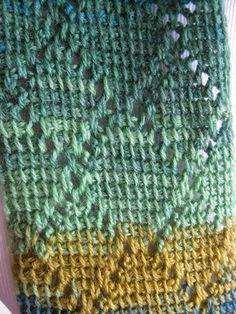 Diamond Scarf Tunisian Crochet | Craftsy