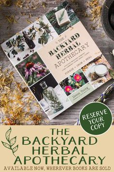 The Backyard Herbal Apothecary is yuor guide to seeing the lanscape through the eyes of an herbalist. Features traditional & evidences -based uses, identification & home remedies for 50 herbs. Cold Home Remedies, Natural Health Remedies, Herbal Remedies, Different Types Of Arthritis, Medicinal Herbs, Herbal Medicine, Natural Medicine, Cold Medicine, Herbalife
