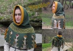 Another beautifully embroidered hood