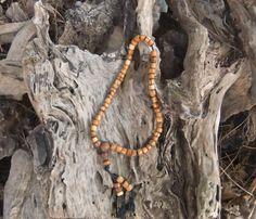 54 Mala Beads Buddhist prayer beads meditation by ellenisworkshop
