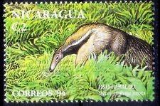 Giant anteater,wild animal stamp