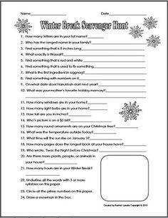 Worksheet Internet Scavenger Hunt Worksheet walmart scavenger hunts and on pinterest christmas break hunt