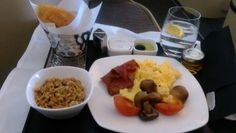 Etihad Business Class, First Class Flights, Food Packaging, Airplane, Snacks, Meals, Breakfast, Plane, Morning Coffee