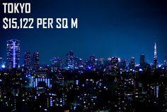 "Tokyo property average price per square meter (Original image by ""Joi"" via flickr)"