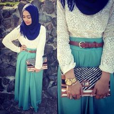 Hijab Fashion #hijab#style#muslimah