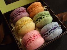 Macarons - sachê