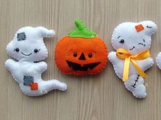Ghost ornament Halloween ornament felt Halloween by DevelopingToys                                                                                                                                                     More