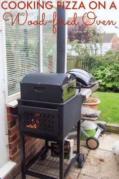 Forno outdoor wood-fired pizza oven