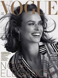 Birgit Kos by Mariana Maltoni for Vogue Brazil June 2018 Kos, Vogue  Magazine Covers, 3ce25baad7