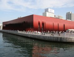 Incredible museum in Japan. Check out the website for better pics. Amazing! http://molodesign.com/projects/aomori-nebuta-house/#