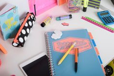 New! Neon Back to School Stationery